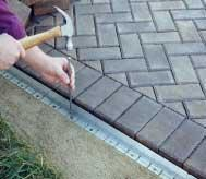 Aluminum Paver Edging Restraint
