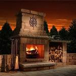 Necessories Colonial Fireplace Series Kits BLUESTONE