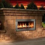 Necessories Contemporary Fireplace Series Kit BLUESTONE
