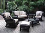 Ebony and Ivory Collection Outdoor GreatRoom Furniture