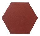 Split Hexagon Rubber Pavers