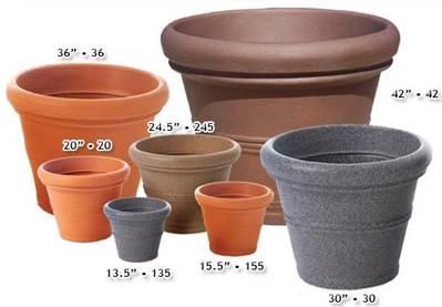 Tusco Decorative Containers - 13.5in x 11in