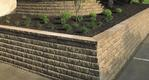 Anchor Diamond Stone Cut Series Retaining Wall