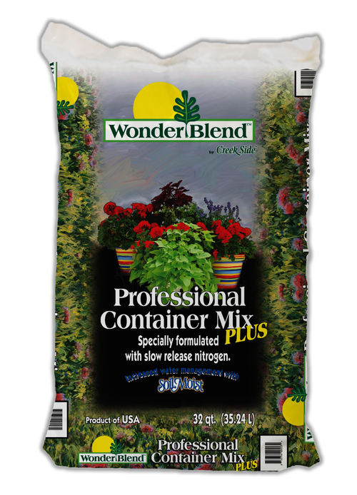 Creekside Professional Container Mix 32qt Wonder Blend